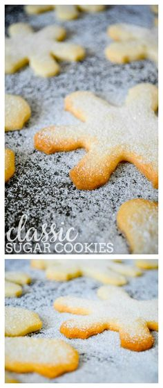 Classic Sugar Cookies - Trust me, you do not need icing! This holiday cookie recipe makes a large batch of a light and sweet holiday classic! | The Love Nerds