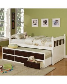 future bed for Sophie with trundle and storage