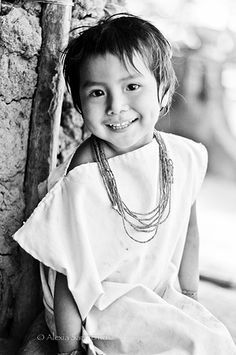"""A Kogi Child  The Kogi (/ˈkoʊɡi/ koh-gee) or Cogui or Kágaba, translated """"jaguar"""" in the Kogi language[2] are an Indigenous ethnic group that lives in the Sierra Nevada de Santa Marta in Colombia. Their civilization has continued since the Pre-Columbian era. (From Wikipedia)"""