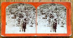 Stereoscope Stereoview 3D Photo Card 1882 Era by LeftoverStuff