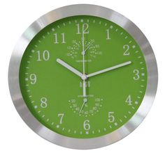 hito Modern Silent Wall Clock Non Ticking 10 inch Excellent Accurate Sweep Movement Silver Aluminum Frame Glass Cover, Decorative for Kitchen, Living Room,... Best Wall Clocks, Ticks, Living Room, Kitchen Living, Modern Design, Glass, Frame, Silver, Watches