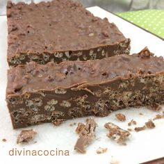 Cocina – Recetas y Consejos Chocolate Sweets, I Love Chocolate, How To Make Chocolate, Chocolate Recipes, Cream Cheese Cupcakes, Deli Food, Homemade Sweets, Strawberry Cakes, How Sweet Eats