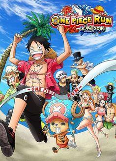One Piece Run - Okinawa 2016Maratona de 5,5 km terá percurso inspirado em One Piece.