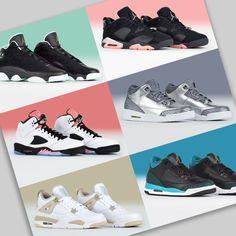 Fresh J's for the ladies. 40+ girls' Jordan Retros in stock! #Jordanshoes #JordanRetro #sneakers