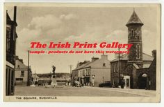 Co Antrim - a view of The Square, Bushmills c. 1940
