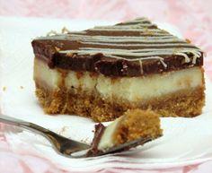 Chocolate and cream cheese bars
