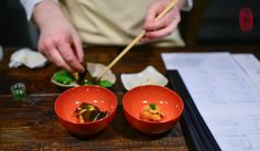 Sea Urchin, Chef's Counter at Saison