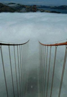 Afternoon Fog, The Golden Gate, San Francisco.