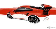 Alan Derosier - Transportation design: GT3 RS
