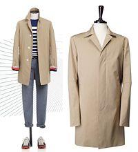 Beige Coat, Korean Fashion, Jackets, Beige Trench Coat, K Fashion, Down Jackets, Korea Fashion, Korean Fashion Styles, Jacket