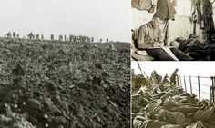 The image was taken at the Battle of the Somme in July 1916 by a soldier who defied Army chiefs in the First World War to take secret photographs of life in the trenches.