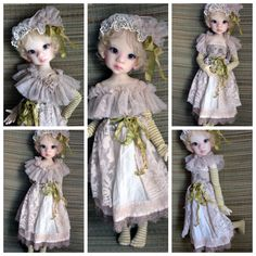 OOAK Handmade Outfit for Kaye Wiggs MSD BJD by MeadowDoll