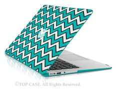 TOP CASE - Apple the New Macbook 12 Retina Display Laptop Computer Chevron Rubberized Hard Shell Case Cover for Model (Release 2015 ) - Hot Blue New Macbook Air, Macbook Air Cover, Macbook Pro Case, Macbook Accessories, Computer Accessories, Purple Chevron, Aqua Blue, Laptop Screen Repair, Hot Blue