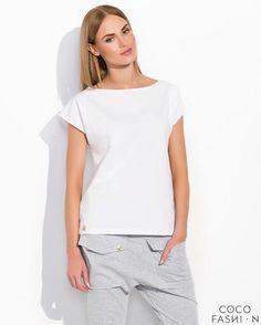 White Classic Plain Ladies Tshirt- http://www.siboom.es/ladies-t-shirt-plain-short-sleeved-v_ofertas.html  