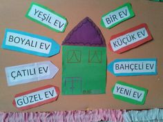 Sıfat Art Activities For Kids, Crafts For Kids, Turkish Lessons, English For Beginners, Second Language, My Works, Homeschool, 1, Education