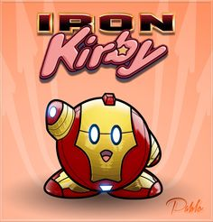 Avengers - Kirby Style Created byPAabloO | InsanelyGaming