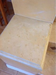 The ragged wren : Painting Stone- Faux Travertine