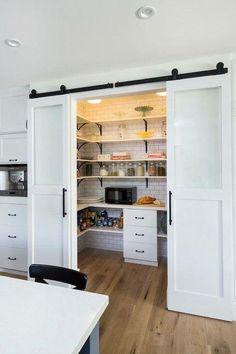 Hideaway pantry