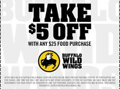 buffalo wild wings gift card promotion 34 best buffalo wild wings coupons images in 2014 5709