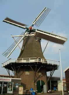 Flour mill De Lelie, Ommen, the Netherlands