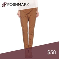 New listing! DONDUP casual pants DONDUP pants EUC  98% Cotton, 2% Elastane  tan brown, basic solid color, mid rise, slightly low crotch, drop crotch, regular fit, tapered leg, attached ribbon tie, button closure, side pockets, chinos  Size 27 (Jeans Size)  approx waist inseam leg opening Dondup Pants