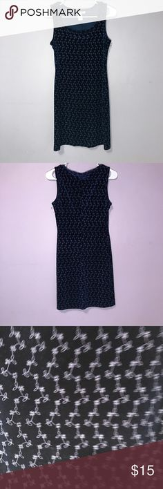Velvet Dress Floral Body Con Sleeveless Blue Beautiful dress from Rampage in good condition! Rampage Dresses Mini