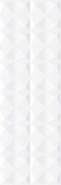 Kitchen backsplash tile (EV DIAMOND WHITE 33,3X100)