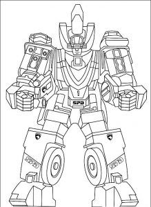 pirate power rangers coloring pages - photo#10