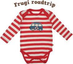 #Frugi Organic Long Sleeve Baby Body #OrganicCotton #OrganicBabyClothes love this!