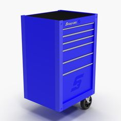 Tool Storage End Blue Max - 3D Model