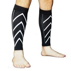 8ef85e76dc Medical Grade Unisex Calf Support Compression Sleeve For Sports Blood  Circulation & Shin Splint (Black) - Walmart.com