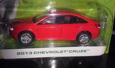 GREENLIGHT MOTOR WORLD AMERICAN EDITION  2013 CHEVROLET CRUZE   (RED) #Greenlight #Chevrolet