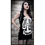 DRESS | Ribcage [Black/White] Tunic/Top
