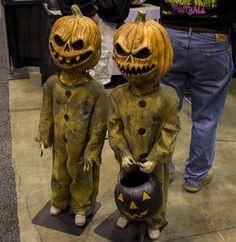 evil pumpkin headed children props                                                                                                                                                      More