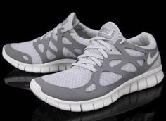 "Nike Free Run+ 2 ""Pure Platinum"""
