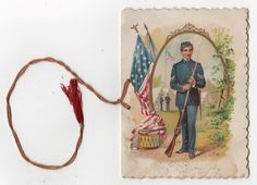 1892 EASTON PA*ANNUAL BALL*LAFAYETTE HALL*#233 SONS OF VETERANS*PATRIOTIC*FLAG