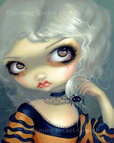 more paintings by Jasmine Ann Becket-Griffith (gothic, steampunk, fantasy, fairy art & more) i her work Gothic Artwork, Fairy Pictures, Witch Pictures, Moon Pictures, French Rococo, Gothic Fairy, Steampunk Fairy, Fairy Art, Halloween Art