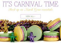 Mardi Gras Finds: Food, Fashion + more
