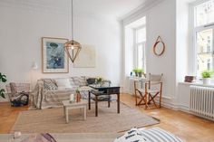 Apartamento Sueco Revelando un Diseño Interior Escandinavo