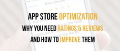 What is App Store Optimization? Why You need App Store Optimization by World Web Solutions | SEO-SMO-Indore   As simple ASO or App store optimization is the process of improving the search visibility of a mobile application in the app store (Google Play Store iTunes Windows store) and in the search engines.  Here are some of the basic steps for an App Optimization.   App Title  Include a relevant App Title with a keyword. Choose that keyword wisely because the search visibility is mainly…