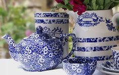 Burleigh Blue Calico und Heritage www.kippax.de/Geschirr/Burleigh-Geschirr/Burleigh-Blue-Calico-englisches-Geschirr/