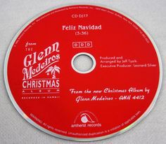 Glenn Medeiros 1993 Feliz Navidad Promo Single CD Christmas Pop Music Mega Rare #1990sPopLatinPopChristmas