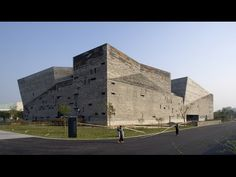 Wang Shu's Ningbo History Museum built from the remains of demolished villages - Architecture