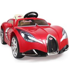 super cool kids ride on 12v bugatti style cars are now in stock red