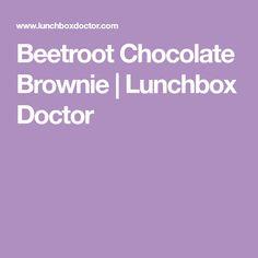 Beetroot Chocolate Brownie   Lunchbox Doctor Healthy Sweet Treats, Healthy Cake, Healthy Sweets, Healthy Baking, Healthy Snacks, Biscuit Cupcakes, Cupcake Cakes, Chocolate Beetroot Brownies, Beetroot Recipes