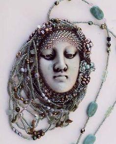 Beadwork around handmade beads/cabs - Page 2 - WetCanvas