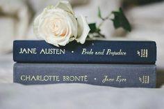 Pride and Prejudice by JANE AUSTEN (1775-1817) / Jane Eyre by CHARLOTTE BRONTE (1816-1855) #janeausten #charottebronte