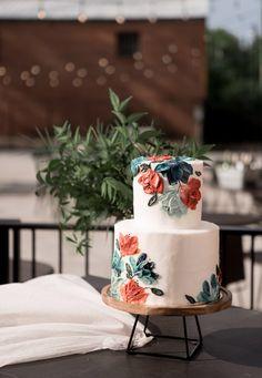 Modern Birthday Cakes, Pretty Birthday Cakes, Pretty Cakes, Cute Cakes, Beautiful Cakes, Amazing Cakes, Different Wedding Cakes, Bun Cake, Cream Wedding