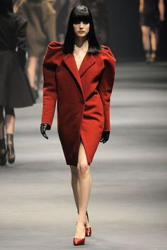 Lanvin Fall 2010 Ready-to-Wear Fashion Show Collection