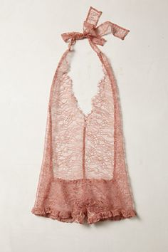 Rosegold Halter Romper from anthropologie....x